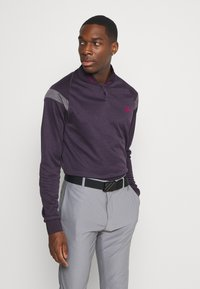 adidas Golf - WARMTH 1/4 ZIP - Sweatshirt - noble purple - 0
