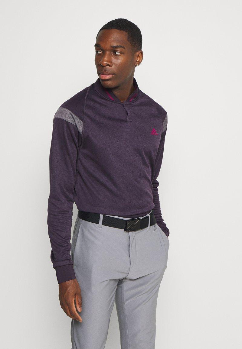 adidas Golf - WARMTH 1/4 ZIP - Sweatshirt - noble purple