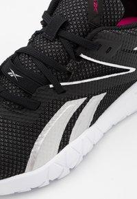 Reebok - MEGA FLEXAGON - Sports shoes - black/white/pink - 5