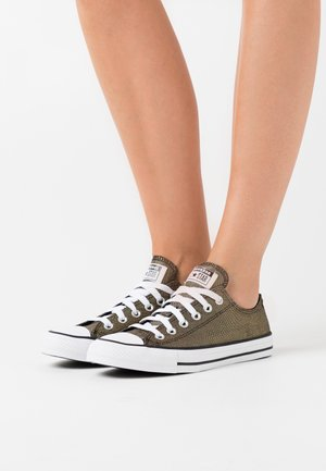 CHUCK TAYLOR ALL STAR - Sneakersy niskie - gold/black/white