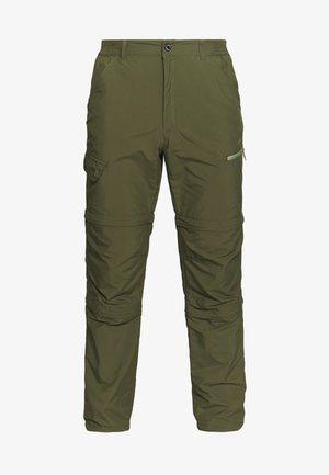 BECKLEY 2-IN-1 - Pantalones montañeros largos - dark olive
