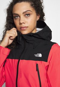 The North Face - WOMENS TENTE JACKET - Hardshell jacket - cayenne red/black - 6