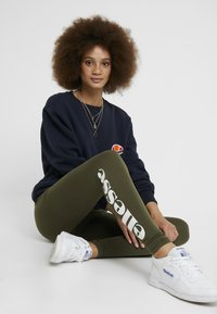 Ellesse - SOLOS - Leggings - Trousers - khaki - 1