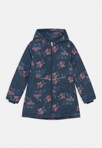 NKFMAXI FLOWER - Winter coat - dark sapphire