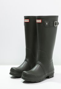 Hunter ORIGINAL - ORIGINAL TALL - Kalosze - dark olive - 2
