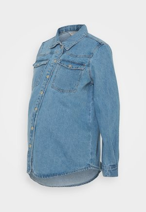 PCMGRAY - Denim jacket - light blue denim