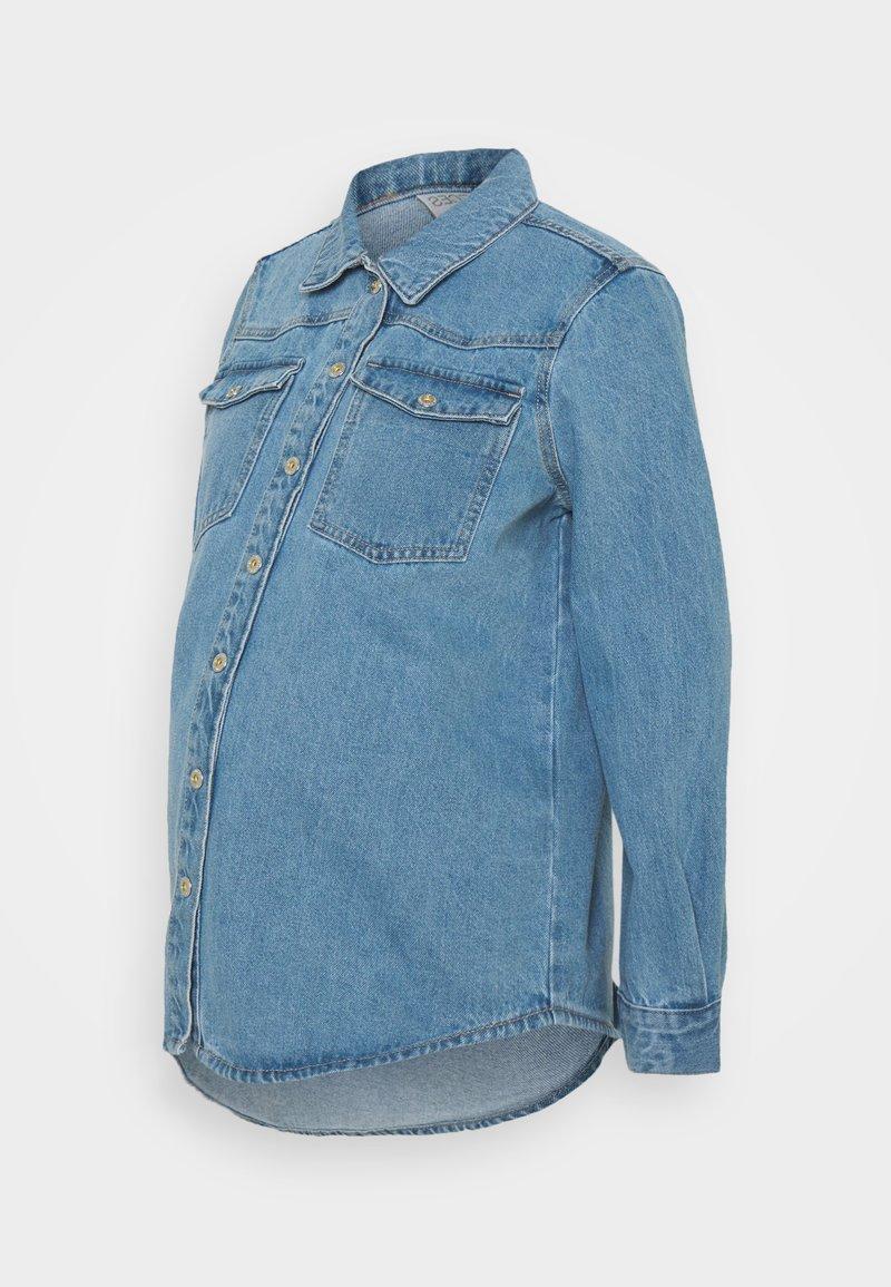 Pieces Maternity - PCMGRAY - Denim jacket - light blue denim