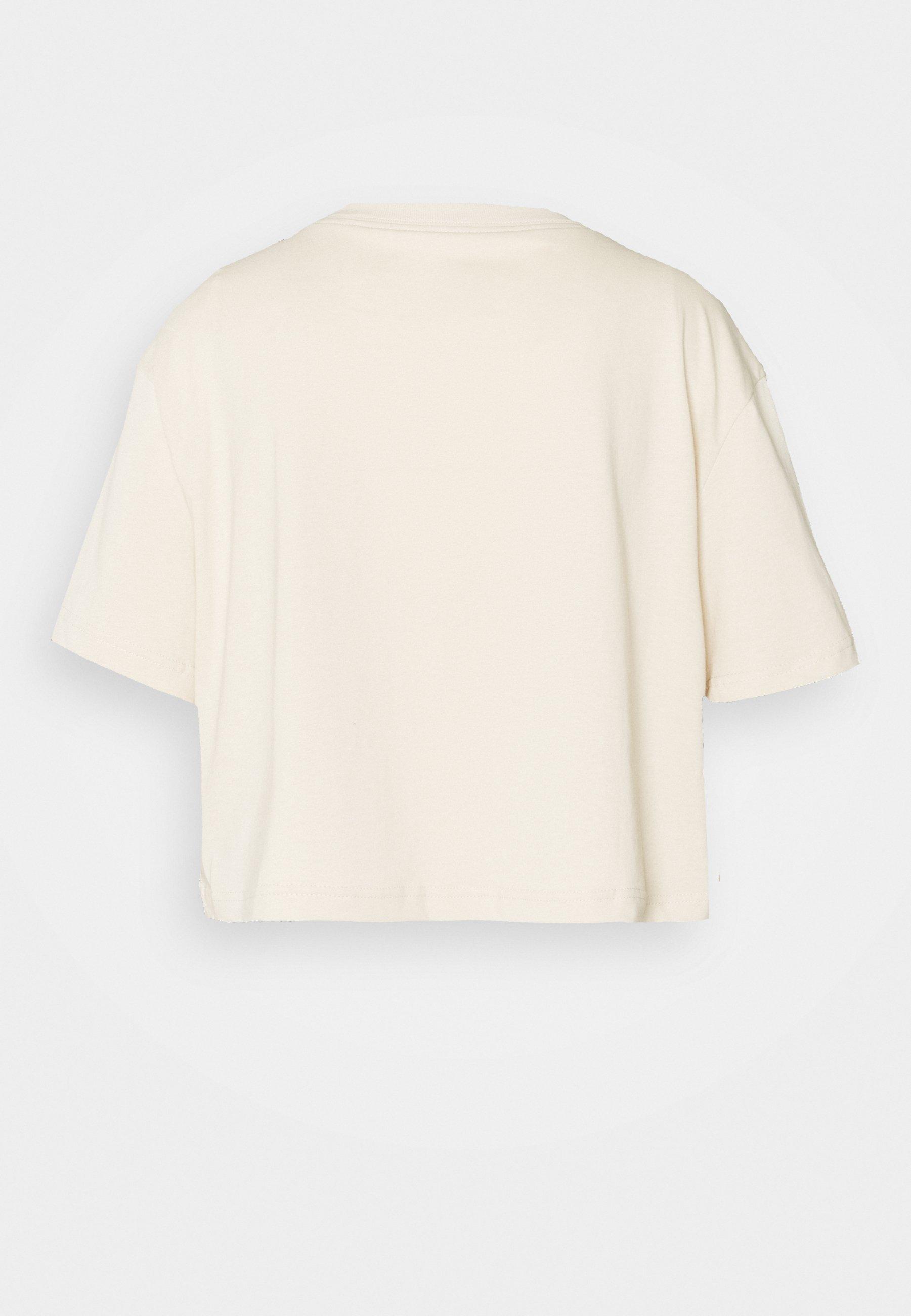 Nike Sportswear Tee Crop - T-shirts Med Print Oatmeal/beige
