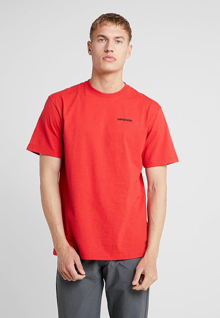 Patagonia - LOGO RESPONSIBILI TEE - T-shirt med print - fire