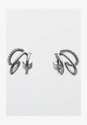 Schwarze MESSINGO - Earrings - metallic grey