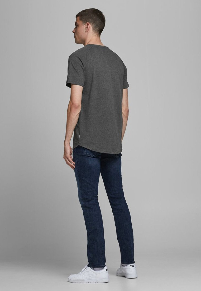 Jack & Jones O-NECK NOOS - Basic T-shirt - dark grey melange z853z