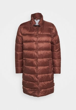 COSY PORI - Winter coat - mahogany