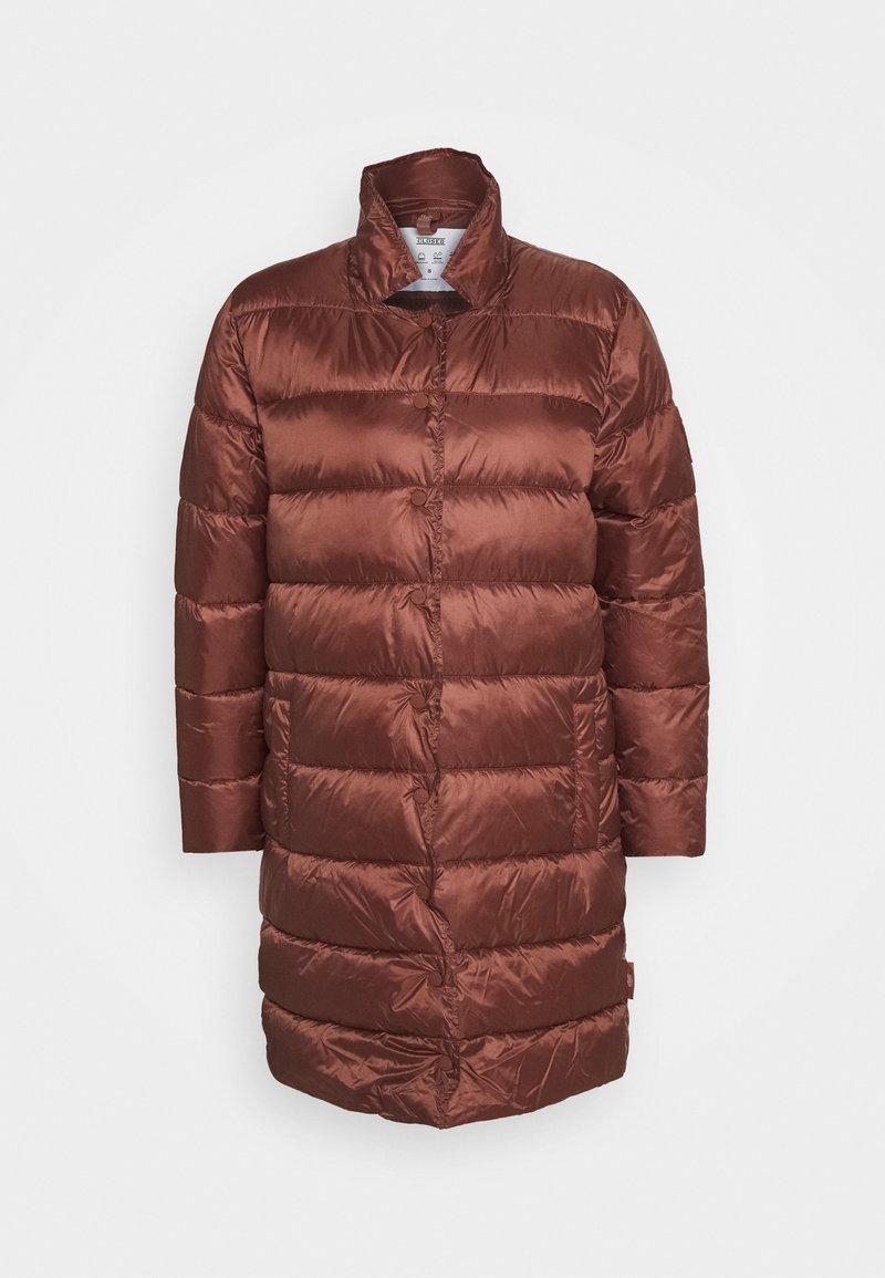 CLOSED - COSY PORI - Winter coat - mahogany