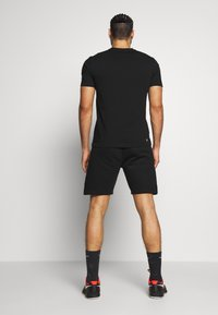 Lacoste Sport - SHORT TAPERED - Sports shorts - black/silver chine - 2