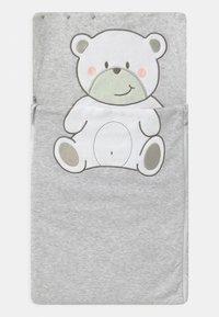 Jacky Baby - WELCOME UNISEX - Baby's sleeping bag - hellgrau melange - 2