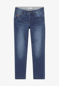 Name it - NKMBABU PANT - Džíny Straight Fit - medium blue denim - 2