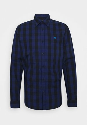 REGULAR FIT- CLASSIC CHECK  - Skjorta - dark blue/black