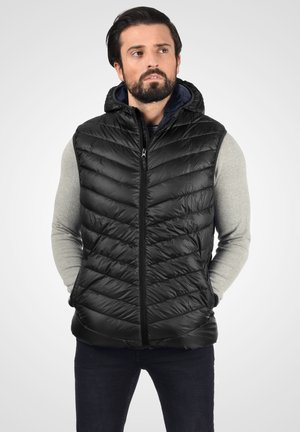 MILANDRO - Waistcoat - black
