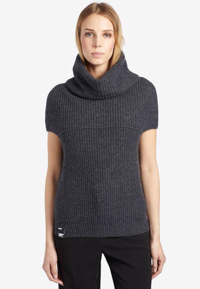 FAYDA - T-shirt imprimé - dark grey