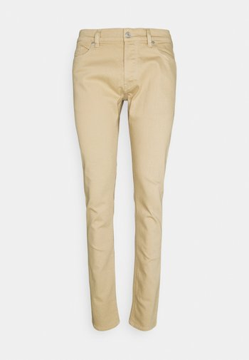 D-LUSTER - Slim fit -farkut - beige