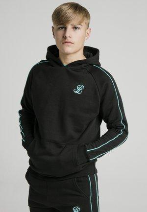 Jersey con capucha - black teal