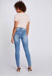 Morgan - Slim fit jeans - bleached denim - 2