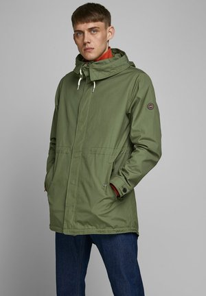 Parka - dusty olive