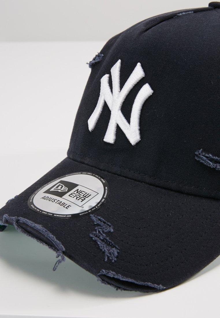 New Era Distressed Trucker - Cap York Yankees/dunkelblau