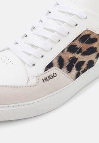 HUGO - VERA LACE UP LEO - Trainers - white - 6