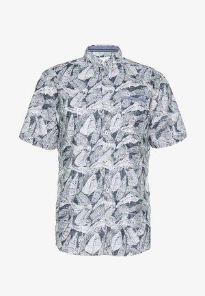 RAY SLUB HOLIDAY PRINT - Shirt - navy/white/blue