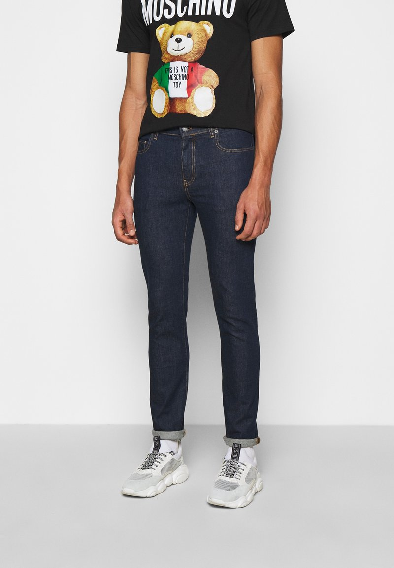 MOSCHINO - TROUSERS - Slim fit jeans - fantasy blue