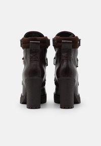 See by Chloé - Kotníková obuv na vysokém podpatku - texan/testa di moro - 3