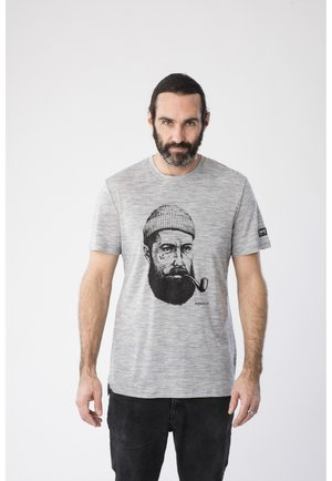 SAILOR TEE - Print T-shirt - grau