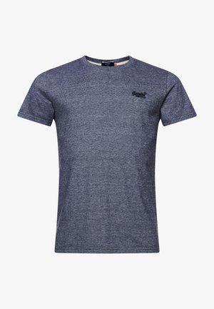 VINTAGE EMBROIDERY  - T-shirt med print - black feeder