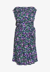 Lauren Ralph Lauren Woman - CAP SLEEVE CASUAL DRESS - Day dress - black multi - 4