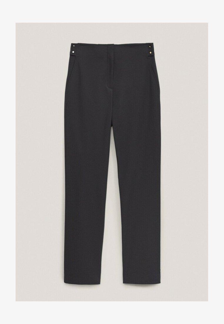 Massimo Dutti - Pantalon classique - blue-black denim