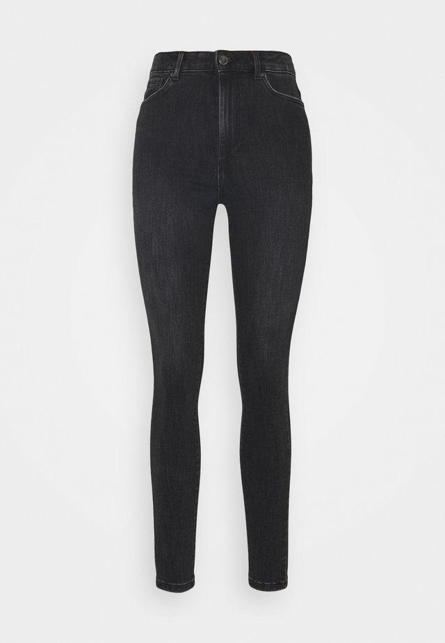 VMLOA - Jeans Skinny Fit - black denim