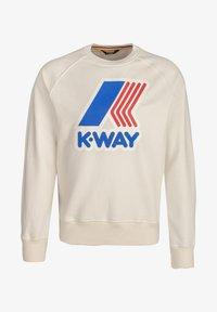 K-Way - EMANUEL - Sweatshirt - white gardenia - 0
