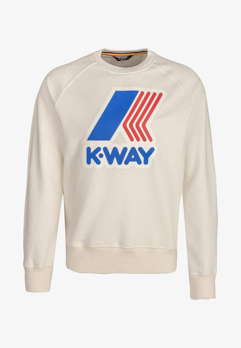 K-Way - EMANUEL - Sweatshirt - white gardenia
