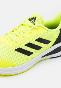 adidas Performance - FORTARUN UNISEX - Neutral running shoes - solar yellow/core black/footwear white - 5