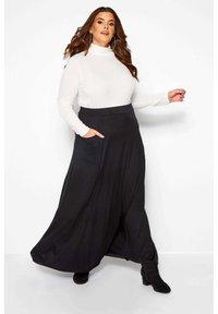 Yours Clothing - Maxi skirt - black - 1