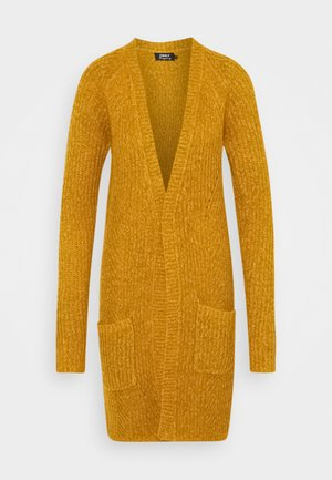 ONLBERNICE CARDIGAN  - Strickjacke - golden glow