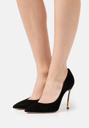 JOLLY BLADE - Classic heels - nero/oro