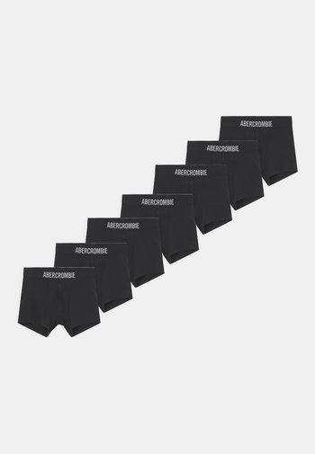 BOXER BRIEF 7 PACK - Pants - solid black