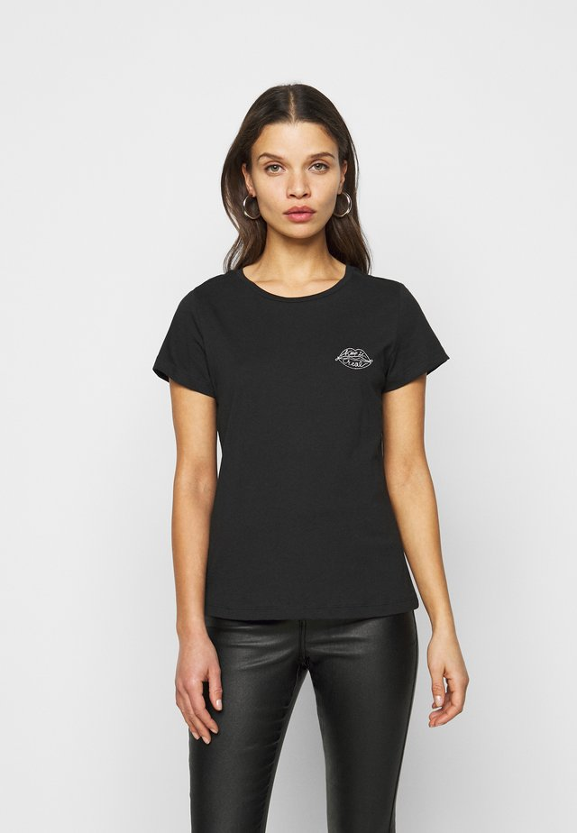 NMNATE HART - Print T-shirt - black