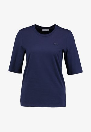 ROUND NECK CLASSIC TEE - T-shirt basic - navy blue