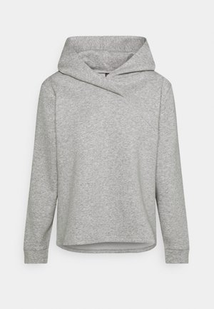 PCLEDA HOODIE  - Sweatshirt - light grey melange