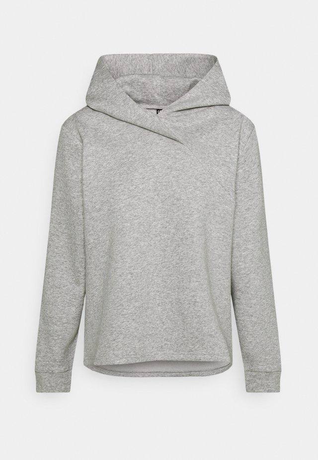 PCLEDA HOODIE  - Collegepaita - light grey melange