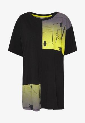 JCOBRENTWOOD TEE - T-shirt med print - black