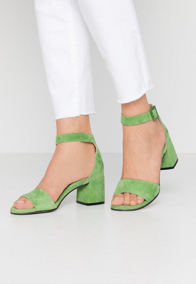 Sandales - verde